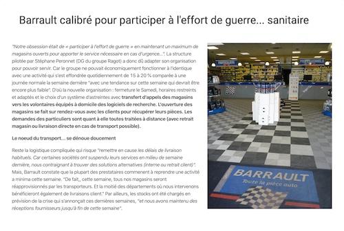Article de presse Barrault