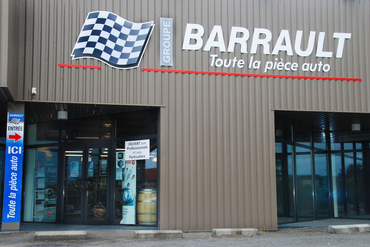 Magasin Barrault de Barbezieux
