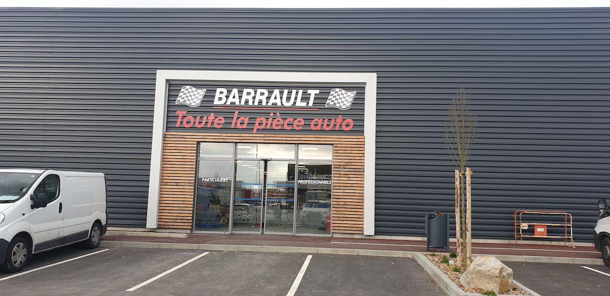 Magasin Barrault de La-Ferté-Bernard