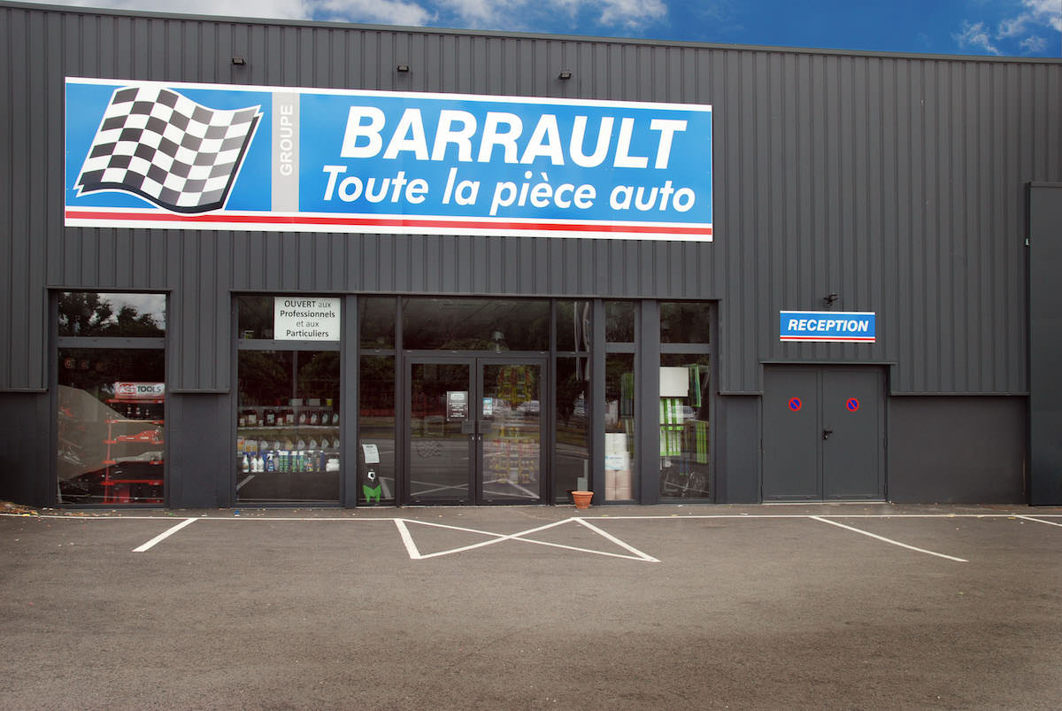 Magasin Barrault de Parthenay
