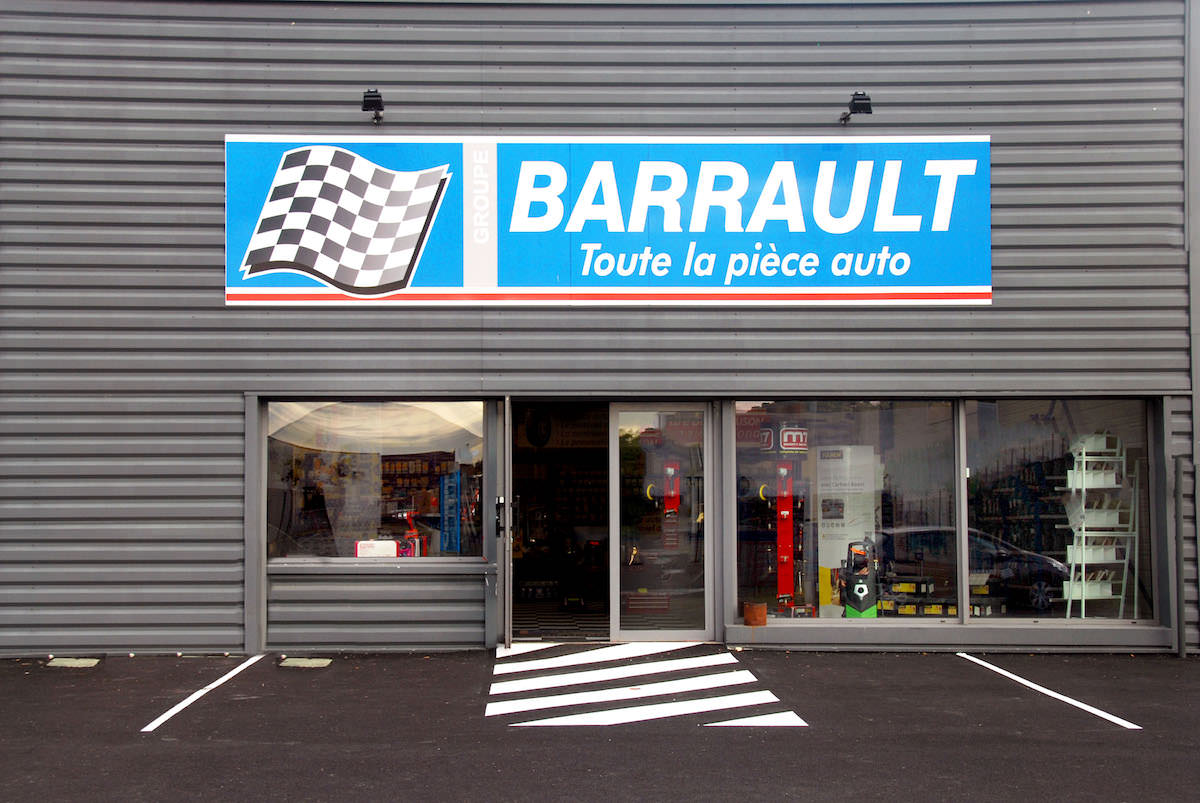 Magasin Barrault de Saintes
